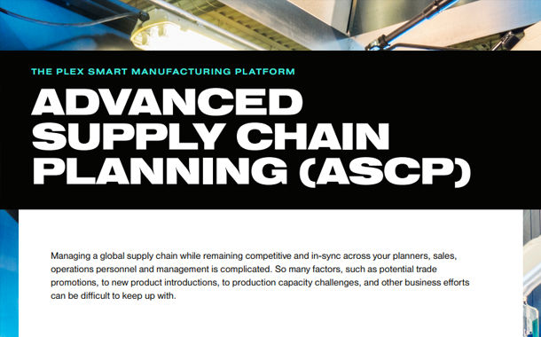 Advanced Supply Chain Planning (ASCP)
