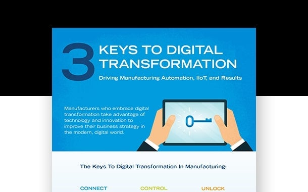 3 Keys to Digital Transformation in Manufacturing