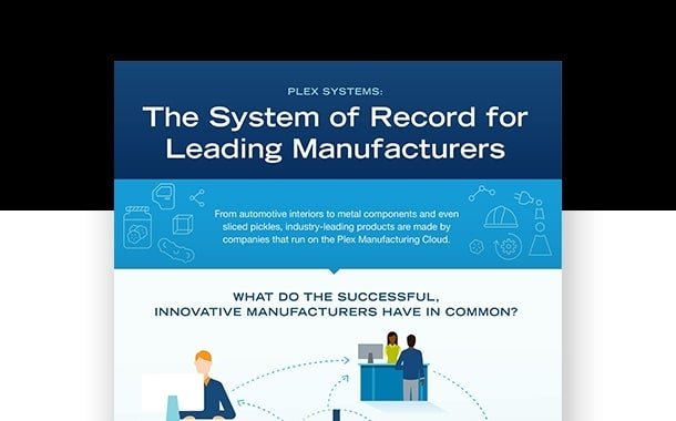 Plex Systems: The System of Record for Leading Manufacturers