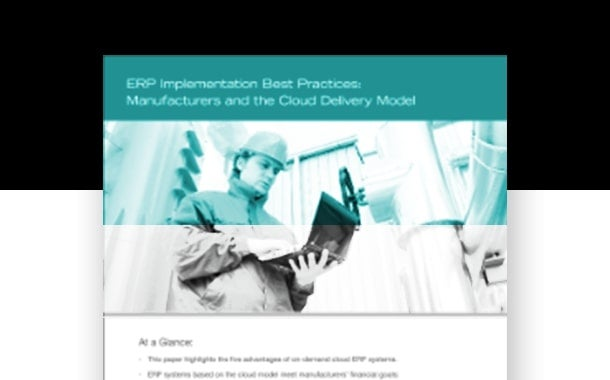 Cloud ERP: Implementation Best Practices