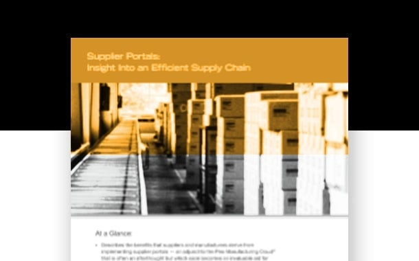 Increase Your Supply Chain Efficiency and Quality with a Supplier Portal