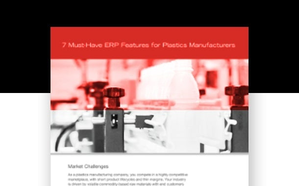 7 Must-have ERP Features for Plastics Manufacturers