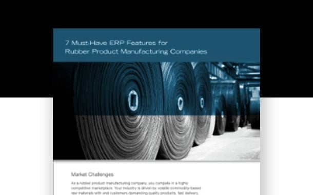 7 Must-Have ERP Features for Rubber Product Manufacturing Companies