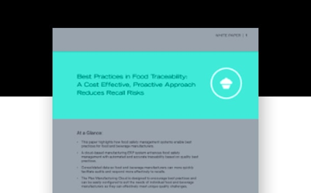 Reduce Recall Risks with Food Traceability Best Practices