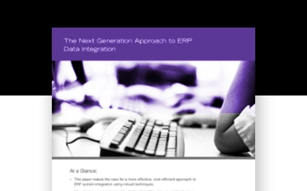 The Next Generation Approach to ERP Data Integration