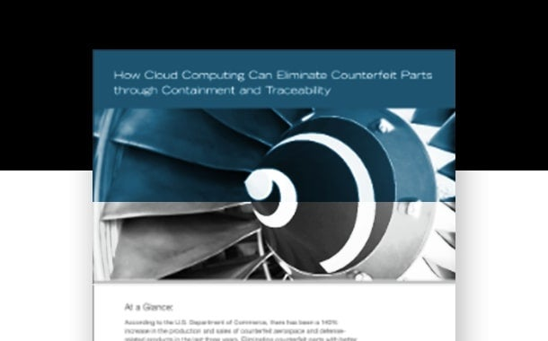 How Cloud Computing Can Eliminate Counterfeit Parts through Containment and Traceability