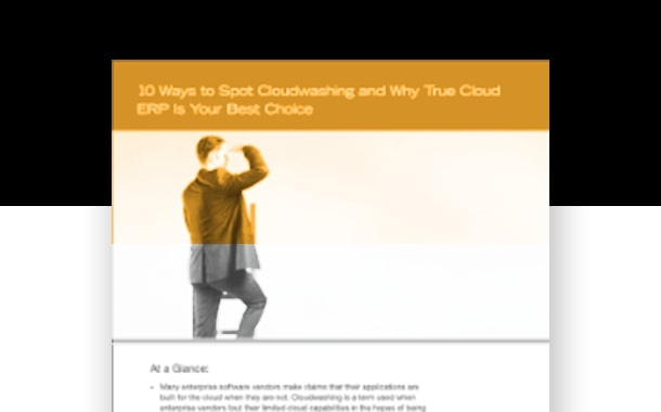 10 Ways to Spot Cloudwashing and Why True Cloud Is Your Best Choice