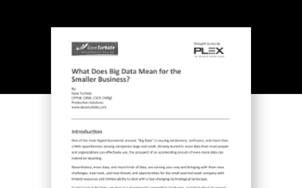 What Does Big Data Mean for Manufacturers?