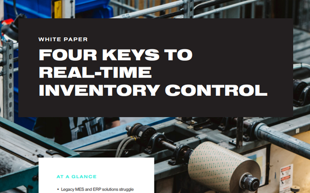 Four Keys to Real-Time Inventory Control White Paper