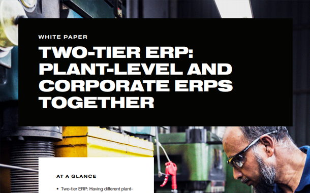 Two-Tier ERP: Plant-Level and Corporate ERPs Together White Paper
