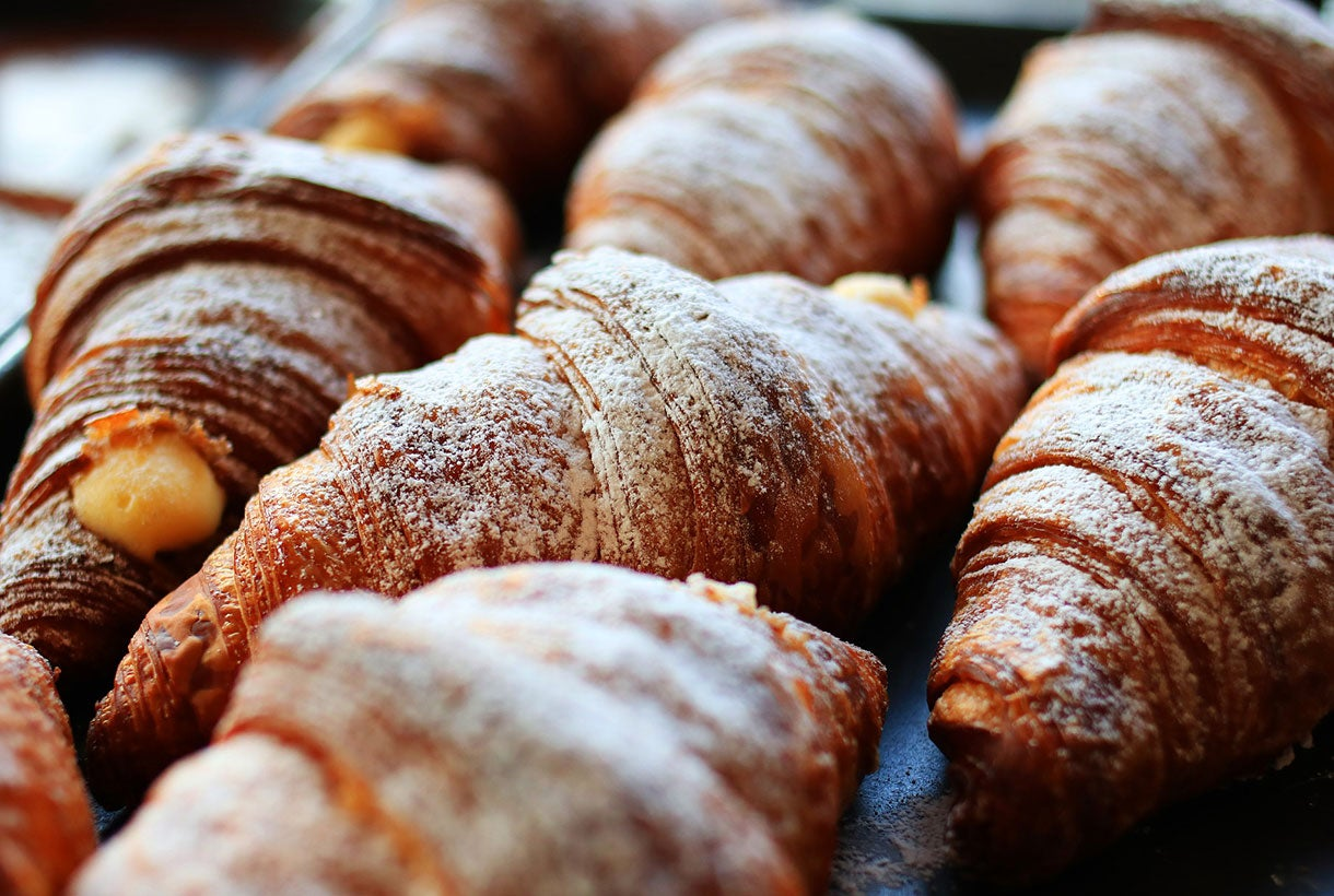 Bakery Manufacturing Croissants