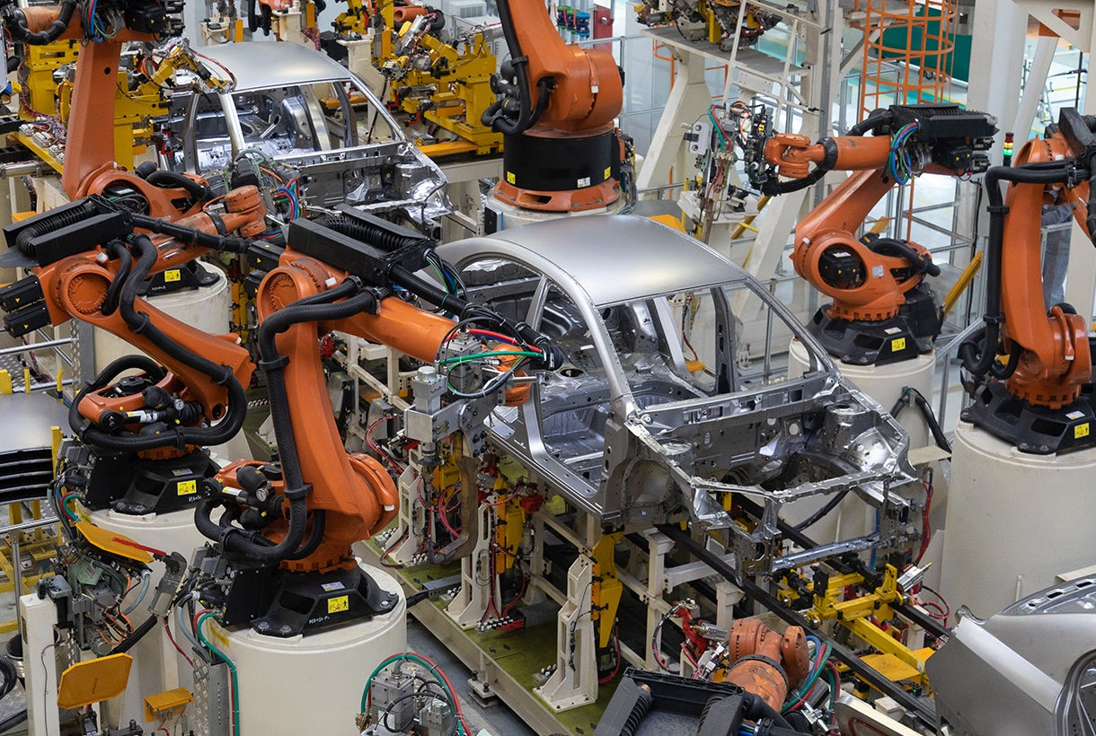 Modern Automotive Manufacturing