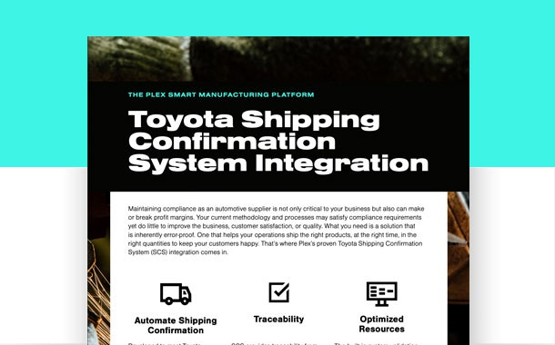 Toyota Shipping Confirmation System Integration