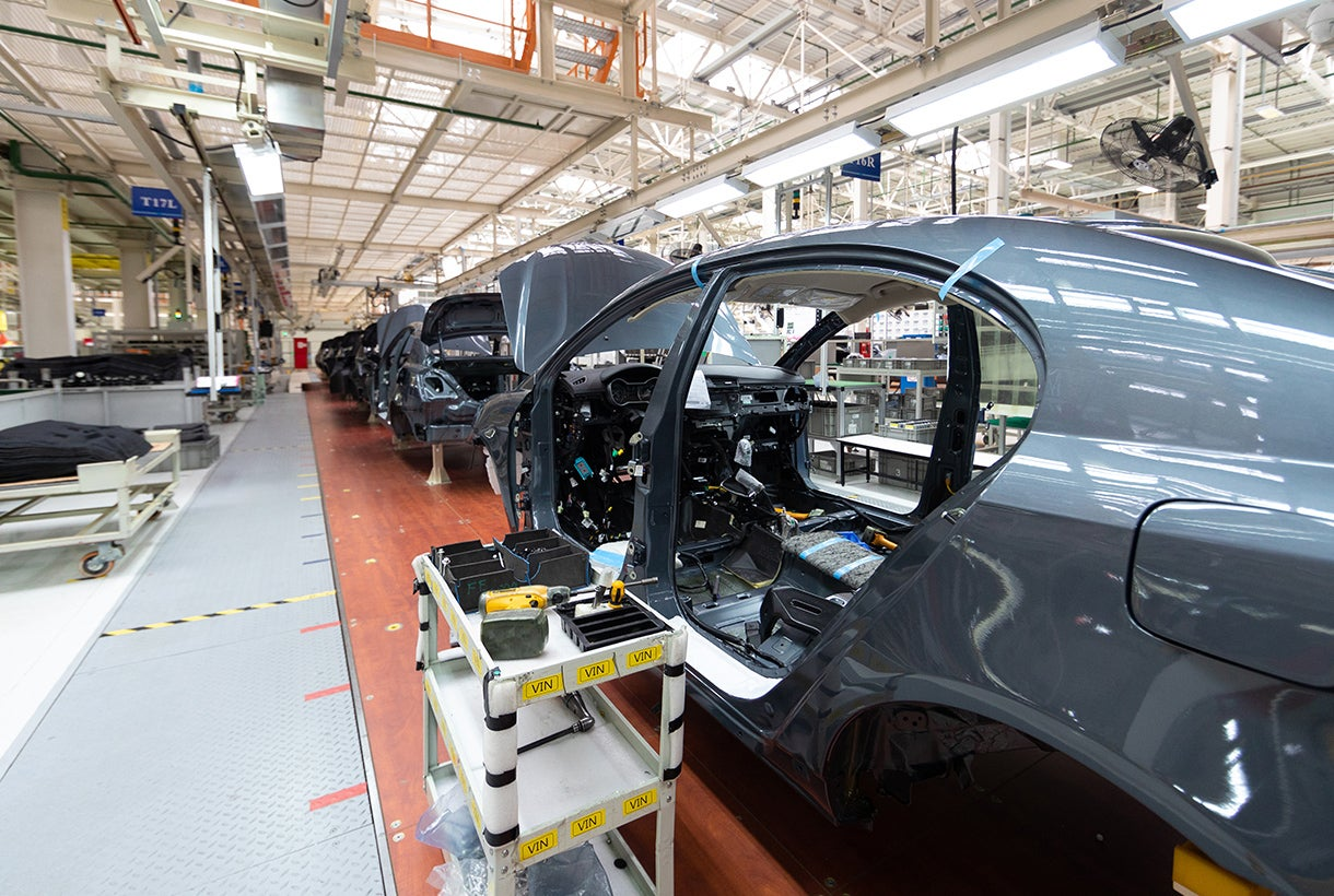 Auto Manufacturing Production