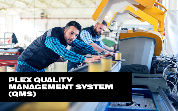 Plex Quality Management System